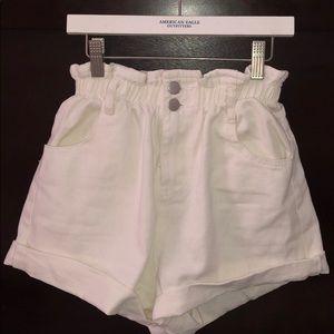 Princess Polly paper bag shorts